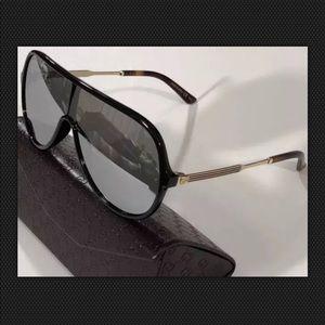 8211b443c7a0f Gucci Accessories - GUCCI GG0199S 002 WEB FLAT MIRRORED SUNGLASSES